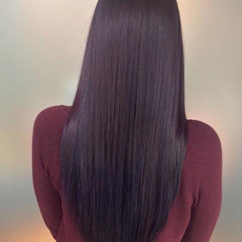 Wine inspired hair by Larissa