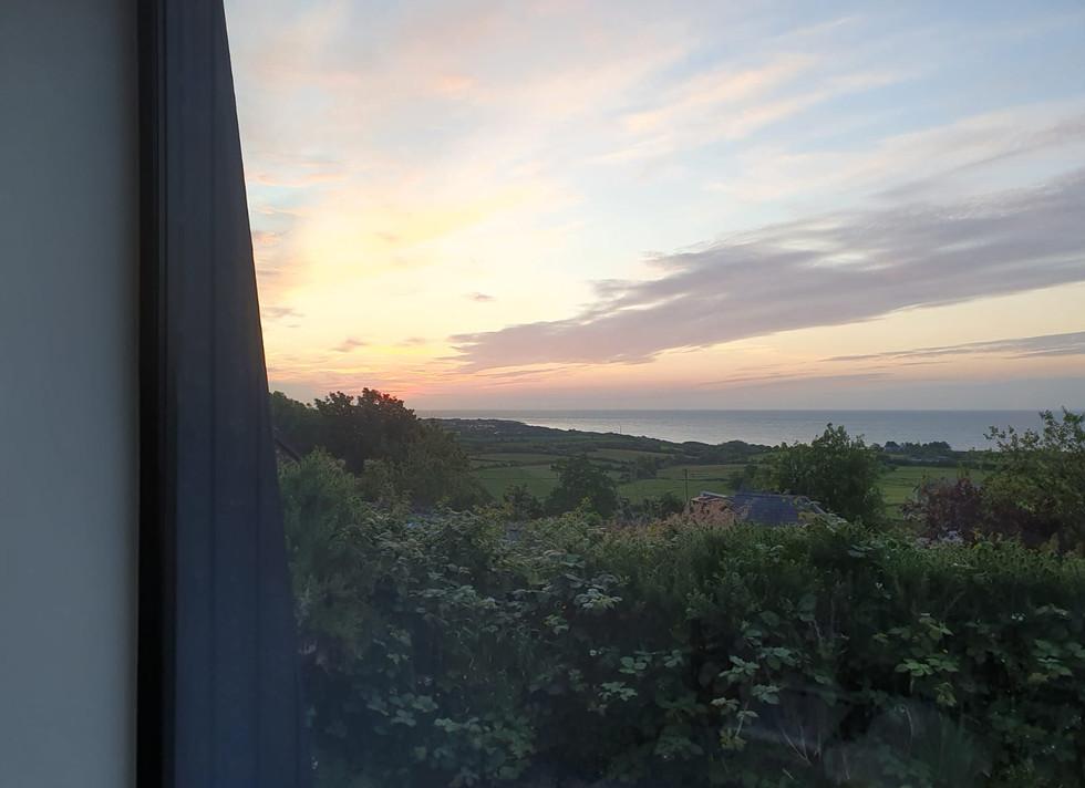 Sunrise side view