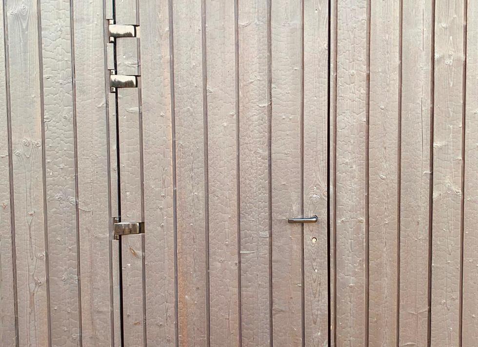 Cladded Door