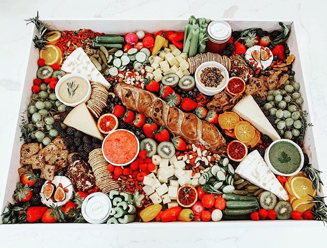 Vegetarian Graze Board
