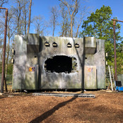 Paint job for 'The Rift' stage set at Forbidden Forest  Company who built the set:Crafthousecreatives