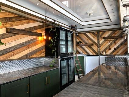 Interior cladded