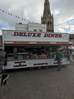 The diner before it's transformation.