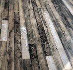 Hand painted wooden floor for home