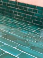 Fibreglass metro tile- Hand Painted