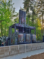 Paint job for 'The Reactor' stage set at Forbidden Forest  Company who built the set:Crafthousecreatives