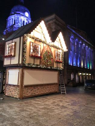 Nottingham Town centre christmas market