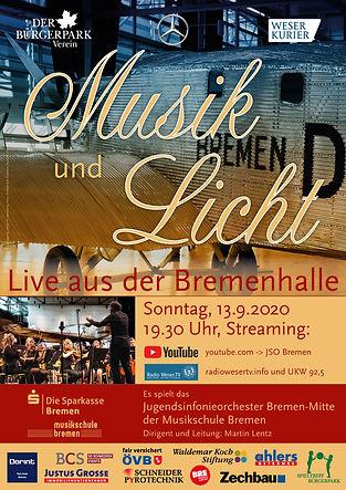 JSO Bremen Musik und Licht 2020