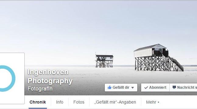 Meine neue Facebook-Seite.