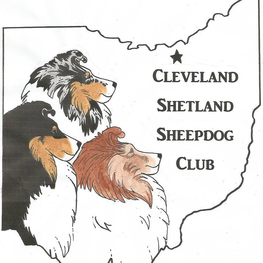Shetland Sheepdog Specialties hosted by the Cleveland Shetland Sheepdog Club.