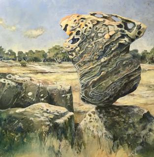 Balancing Rock Paul du Moulin 2 oil on canvas.jpg