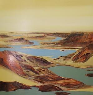 """""""Broken Bridge 2"""" Paul du Moulin 2016 Oil on Canvas.jpg"""