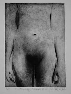 Lady Chatterley Paul du Moulin etching 1