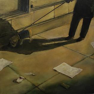 """ New York Street Scene 2 Paul du Moulin 2016 Oil on Canvas.jpg"