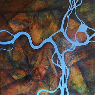 River network oil on canvas Paul du Moulin.jpg