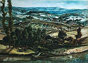 South France Paul du Moulin watercolour.jpg