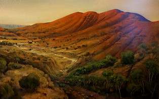Mount Sonda Paul du Moulin oil on canvas.jpg
