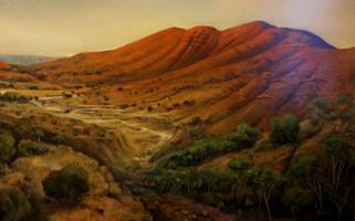 Mount Sonda Paul du Moulin oil on canvas.jpg
