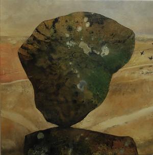 """""""Balancing Rock1"""" Paul du Moulin 2016 Oil on Canvas.jpg"""
