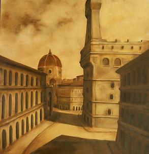Florence oil on canvas Paul du Moulin.jpg