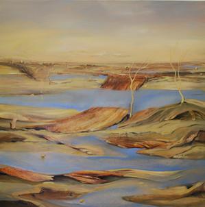 """""""Broken Bridge"""" Paul du Moulin 2016 Oil on Canvas.jpg"""