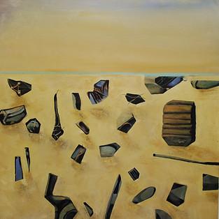 """""""Palimpsest 3"""" Paul du Moulin 2016 Oil on Canvas.jpg"""