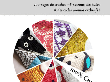 Ebook 100% crochet, 100% français