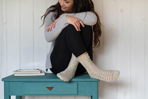 Elwing | Patron de chaussettes au crochet par Mëlie