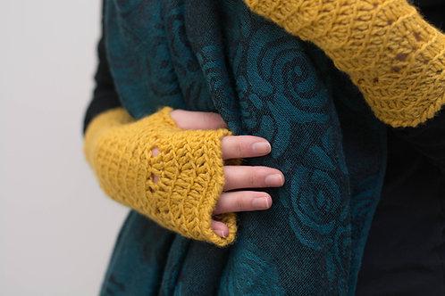 Gants sans doigts | Patron au crochet