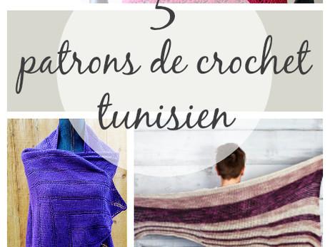 5 patrons de crochet tunisien