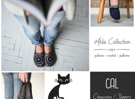 Mëlie's slippers CAL