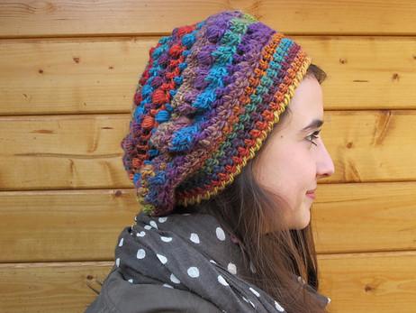 5 Patrons de bonnet au crochet en français