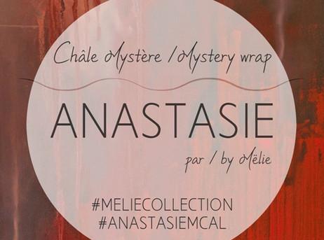 Anastasie MCAL | Châle mystère au crochet