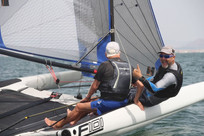 Foiling with Dad