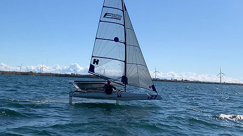 September in Kingston at the Canadian Foiling Centre