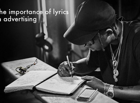 THE IMPORTANCE OF MUSIC'S LYRICS IN ADVERTISING