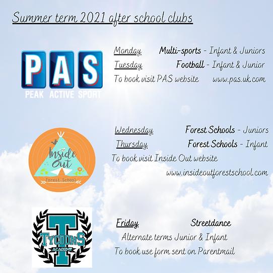AFTER SCHOOL CLUBS Summer term.png