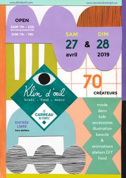 Klin d'œil - Carreau du Temple 2019