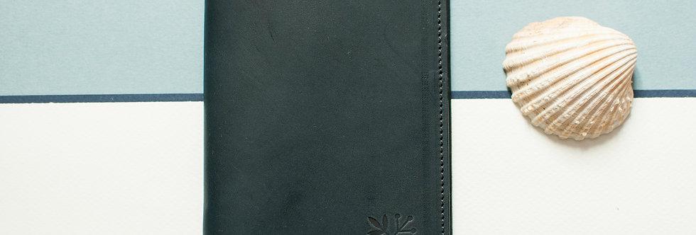 Porte-passeport Plymouth - marine & marine ou miel