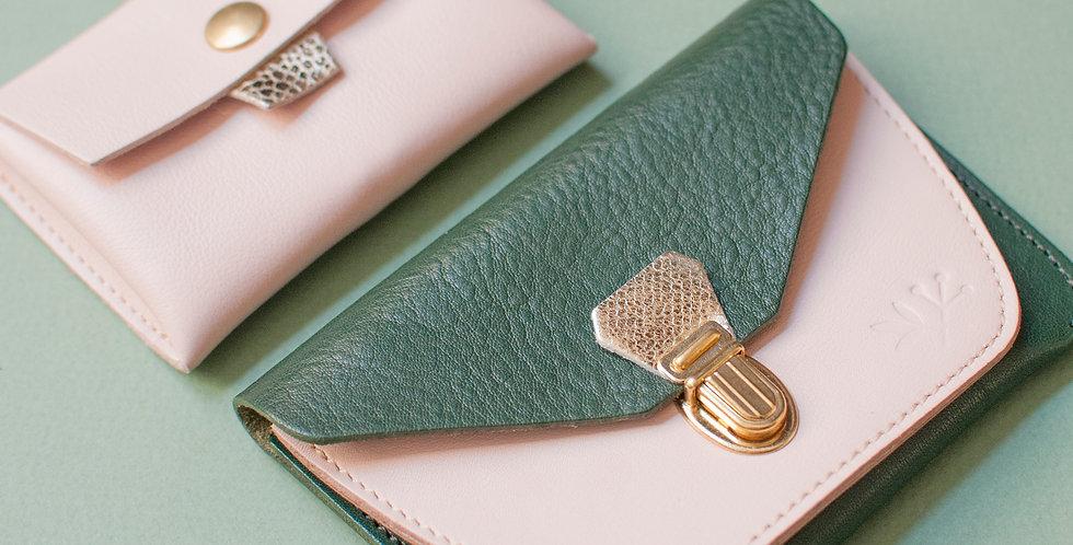 Paimpol + Cabourg /vert rose