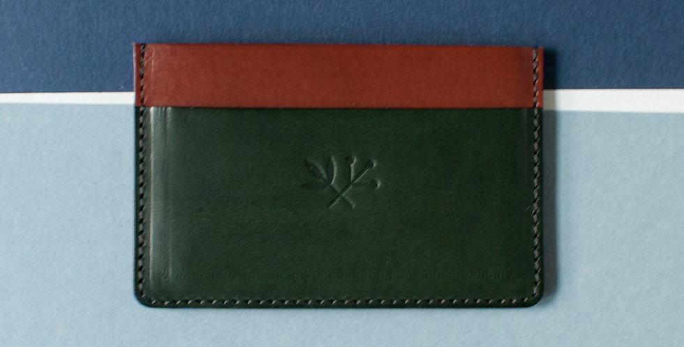 Porte-cartes Roscoff - écureuil & vert