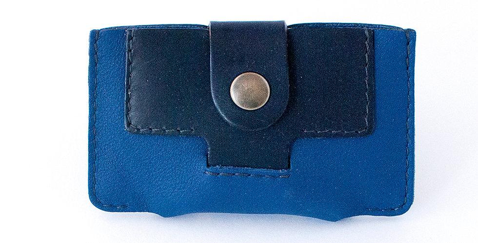 Porte-cartes Granville - bleu