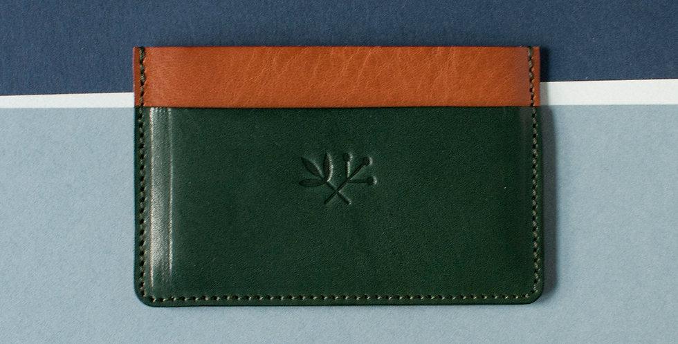 Porte-cartes Roscoff - miel & vert
