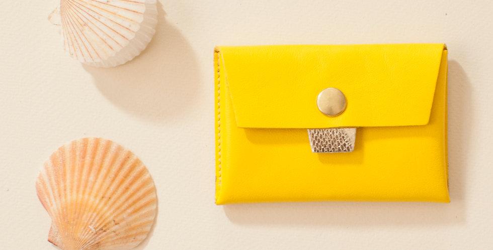 Porte-monnaie Cabourg - jaune