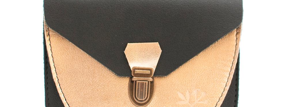 Portefeuille Paimpol - noir et doré