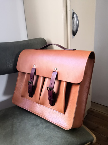 cartable en cuir