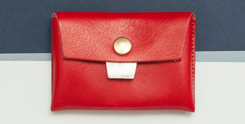 Porte-monnaie Cabourg - rouge