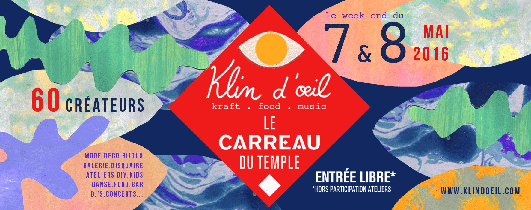 Klin d'œil - Carreau du Temple 2016