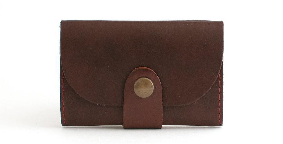 Porte-monnaie Ouessant - marron et noir