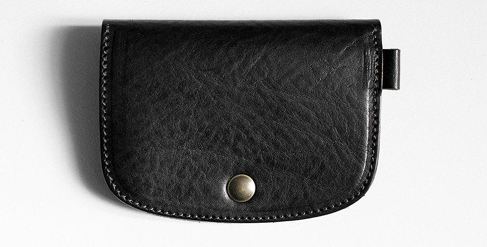 Porte-monnaie Morlaix - noir & olive